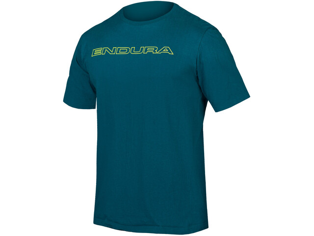 Endura One Clan Carbon T-shirt Herrer, king fisher